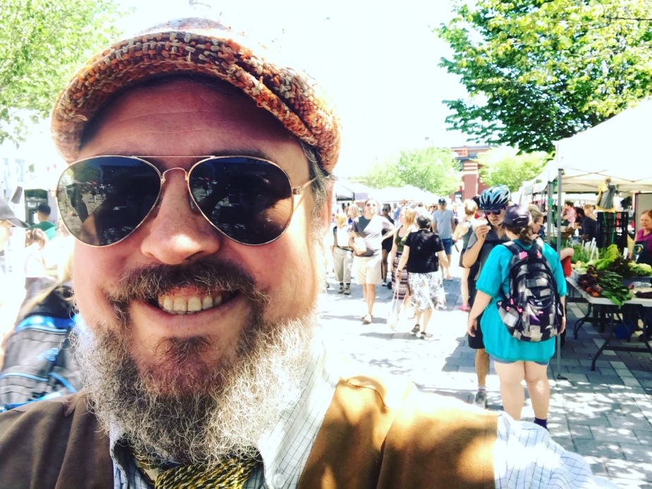 Farmers' Market Troubadour #5 — LansdowneMarket!